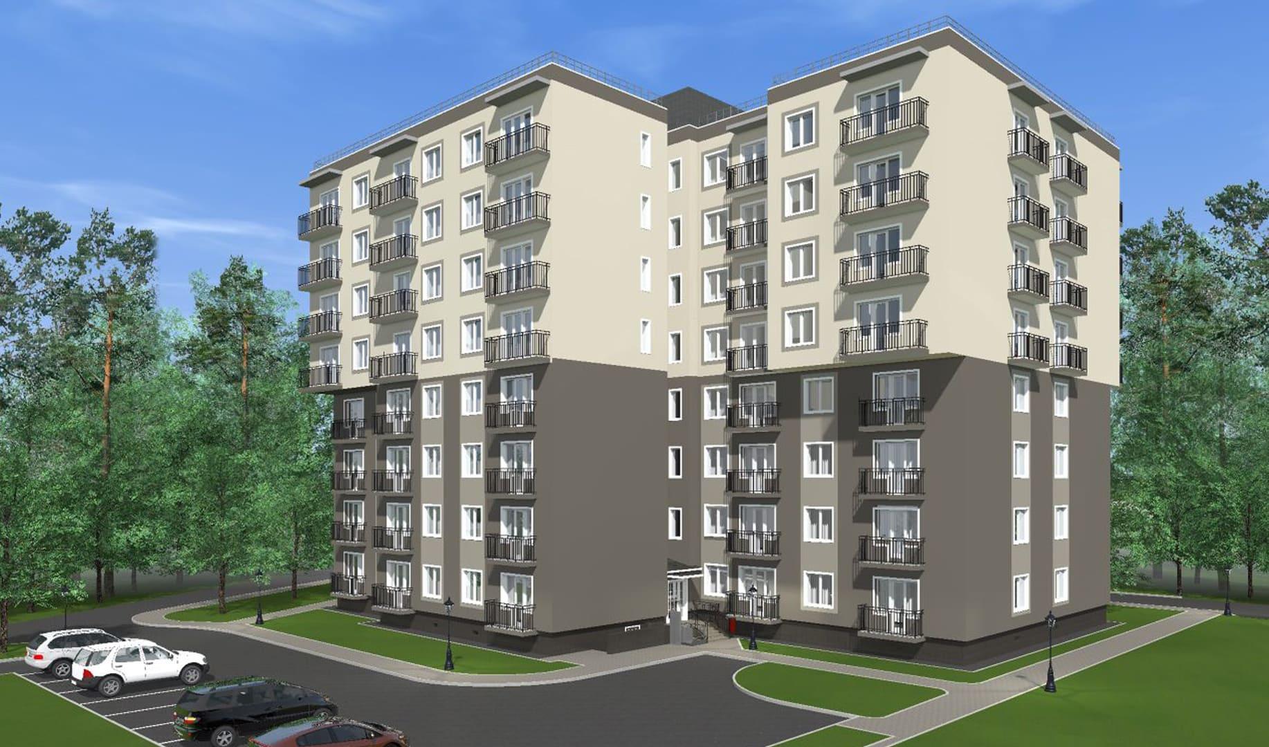 Жилой дом на улице Сосновая, г. Светлогорск - Фотография 1