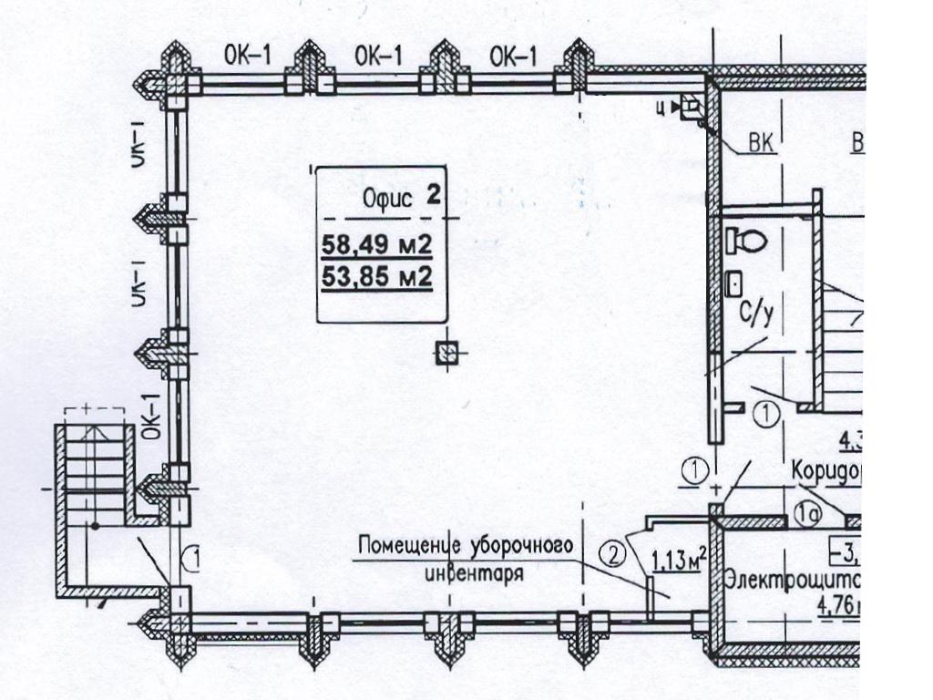 Нежилое помещение по ул. Багратиона, стр. 49 - Фотография 3