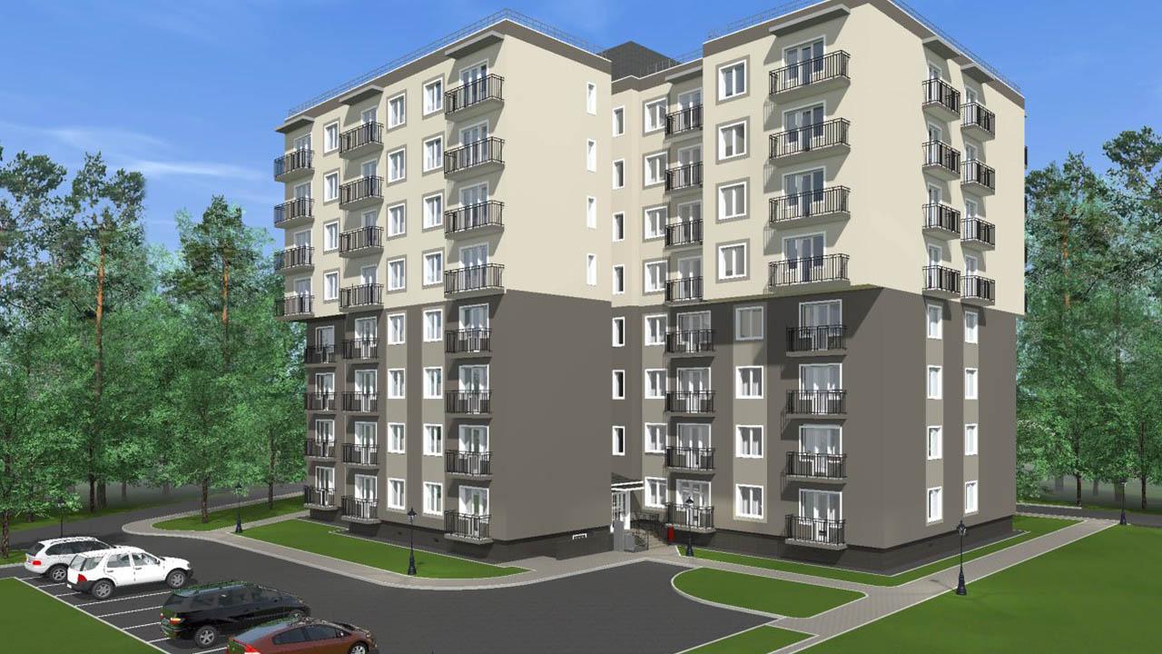 Жилой дом на улице Сосновая, 8