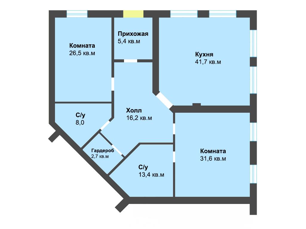 2-к квартира, ул. Энгельса 59а, 145.9 м², 1/3 эт. - Фотография 1