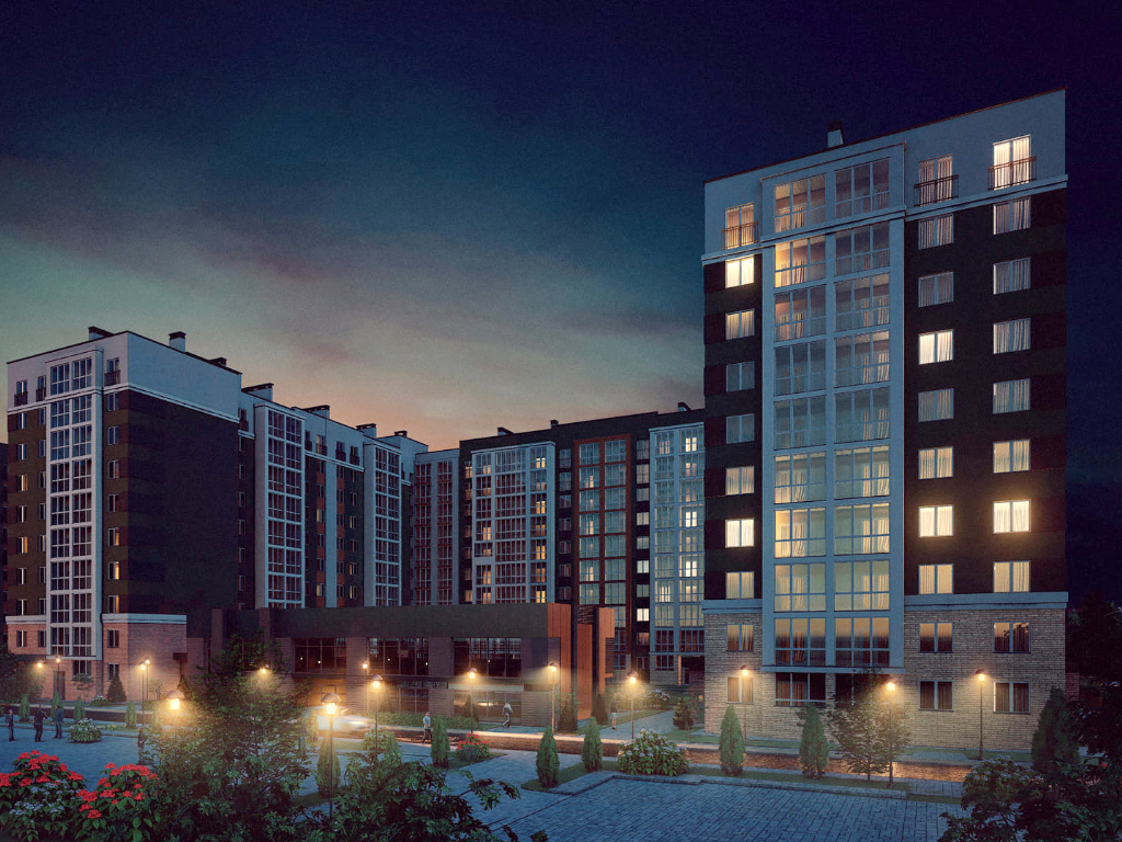 2-к квартира, ул. Карамзина (дом 5, этап 2), 53.13 м², 9/10 эт. - Фотография 2