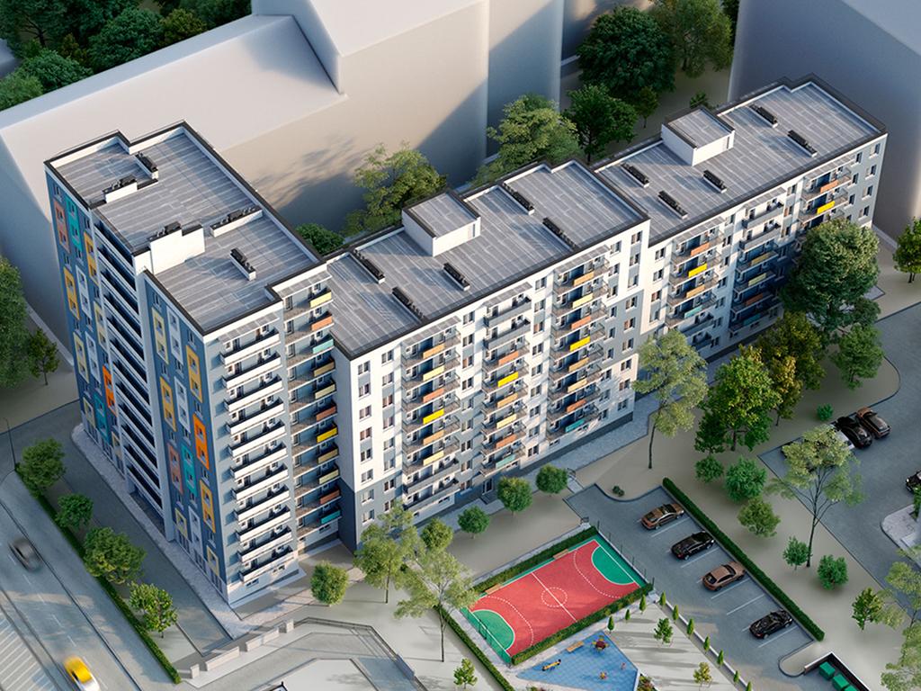1-к квартира, ул. Суворова 35, 34.68 м², 4/12 эт., 3с. - Фотография 2
